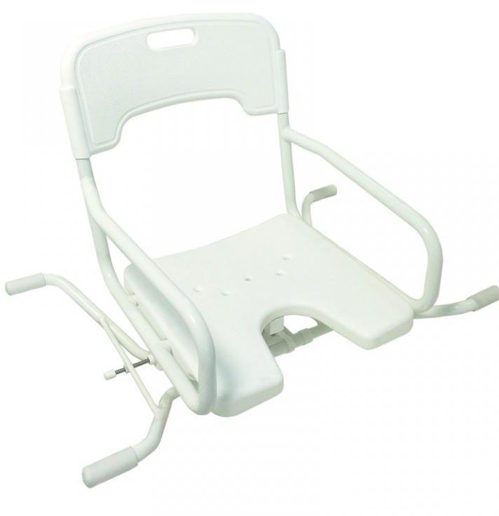 Krzesełko do wanny obrotowe z oparciem i wycięciem higienicznym Drive Medical BES 120