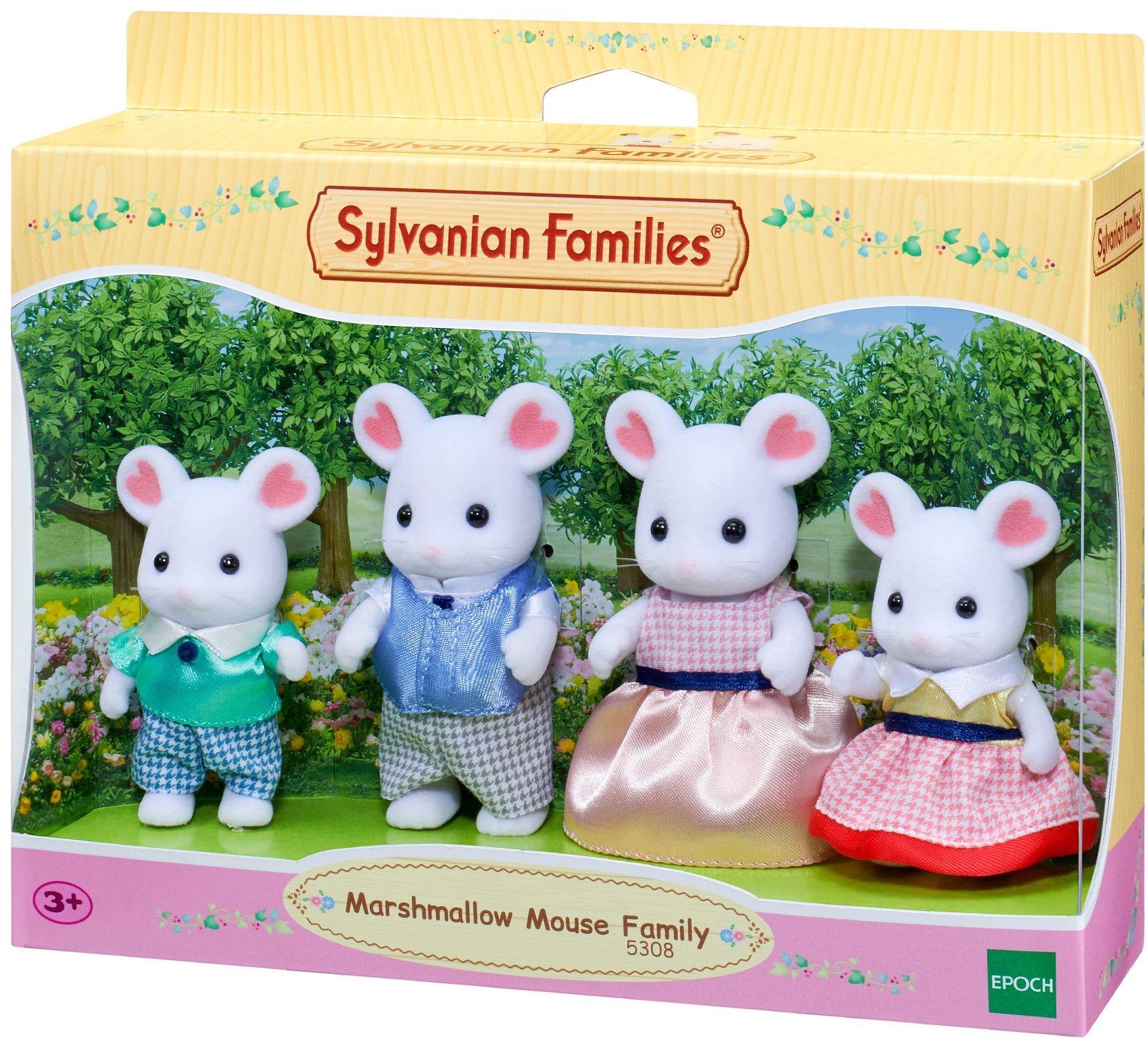Sylvanian Families - Rodzina myszy piankowej