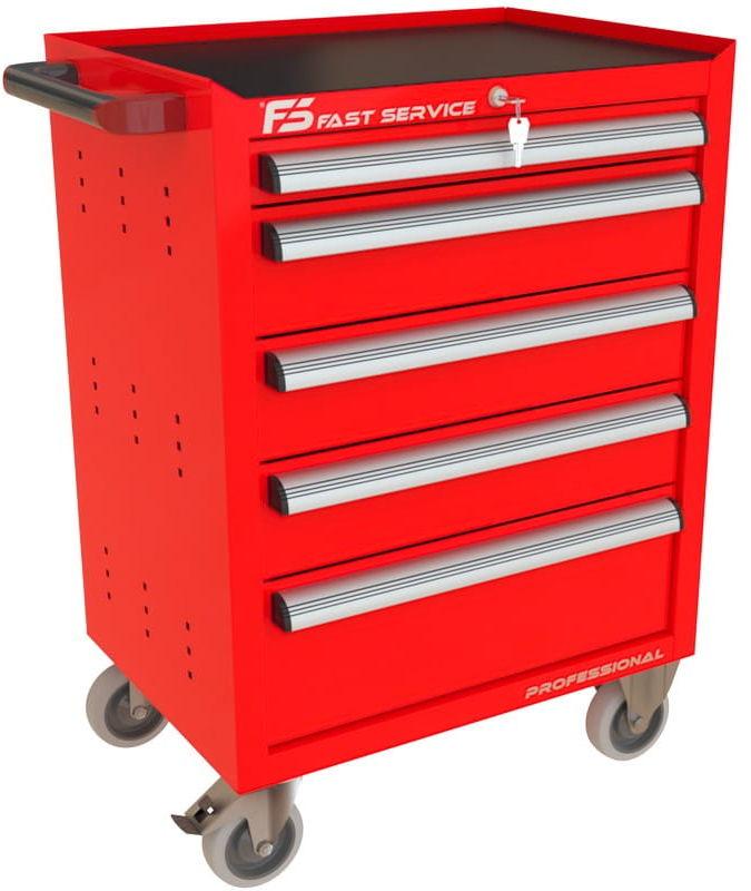 Wózek narzędziowy z 5 szufladami P-221