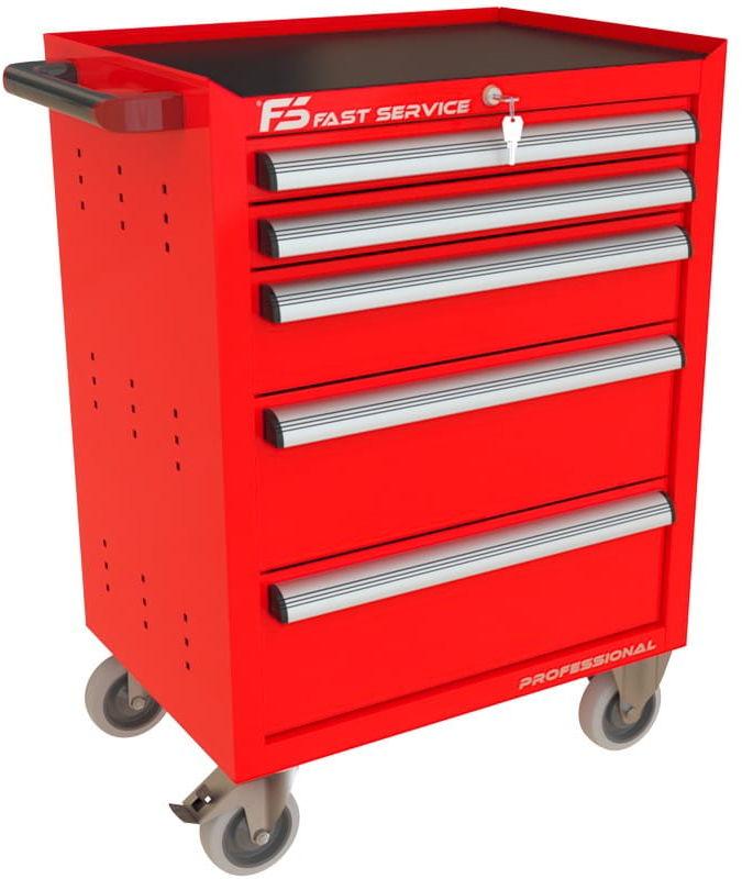 Wózek narzędziowy z 5 szufladami P-222