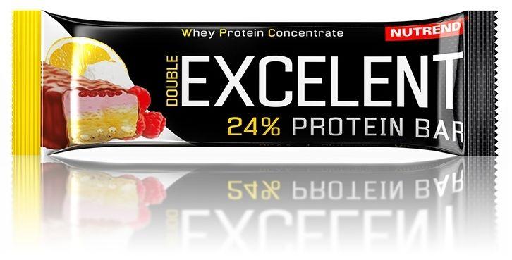 Excelent protein double bar Cytryna+twaróg+malina 85g
