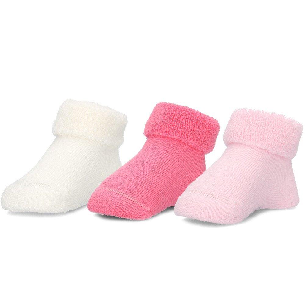 Maximo 3-Pack - Skarpety Dziecięce - 55833-161100/3864 - Różowy