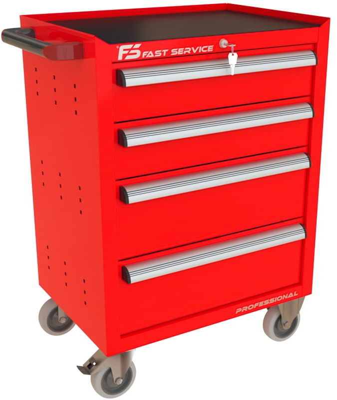 Wózek narzędziowy z 4 szufladami P-223