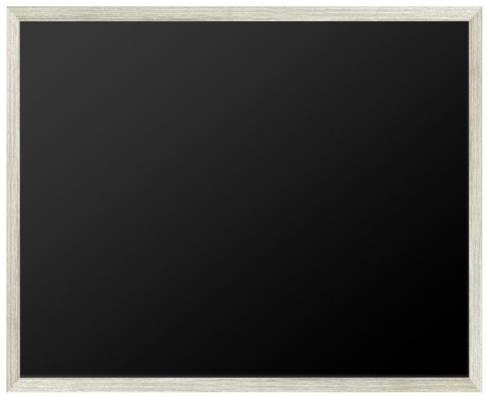 Tablica kredowa w srebrnej ramie 40 x 30 cm
