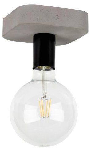 Lampa sufitowa FORTAN 1-punktowa o podstawie betonowej 8254136
