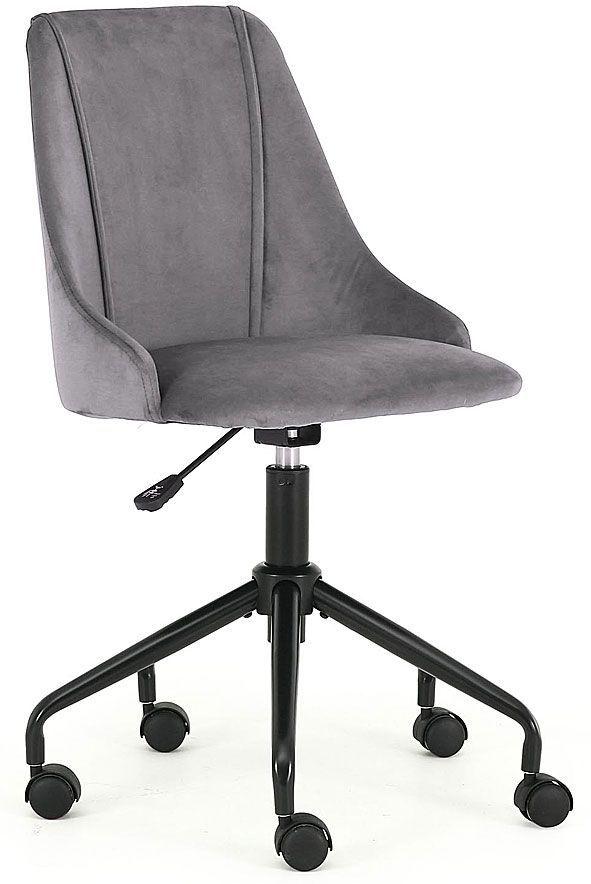 Obrotowy fotel dla dziecka Nemis - popielaty