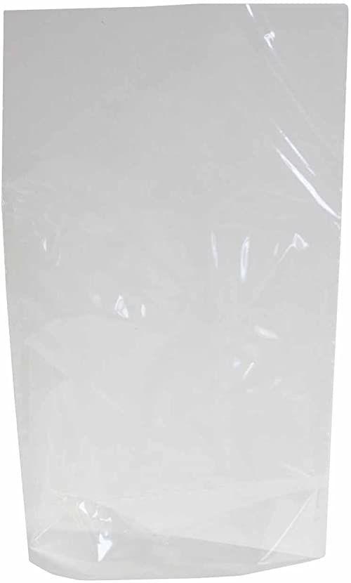 folia 483 - worki z dnem bez nadruku, ok. 18 x 30 cm, 10 sztuk - do indywidualnego pakowania ciastek, słodyczy i wielu innych