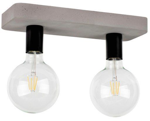 Lampa sufitowa FORTAN 2-punktowa o podstawie betonowej 8254236