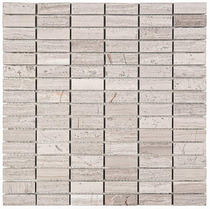 DUNIN Woodstone mozaika kamienna Woodstone Grey Block 48