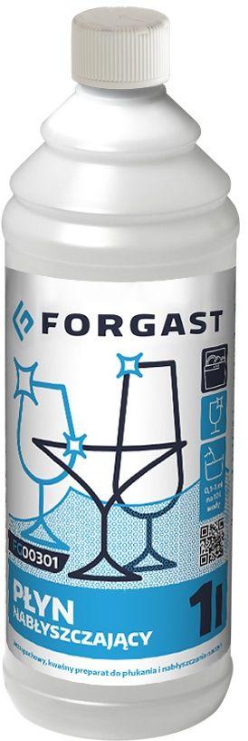 Płyn do płukania naczyń w zmywarkach gastronomicznych Forgast - poj. 1 l