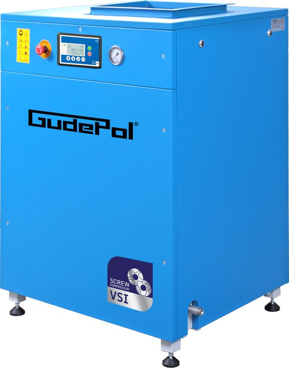 Kompresor śrubowy GudePol GD-VSI7 11/08