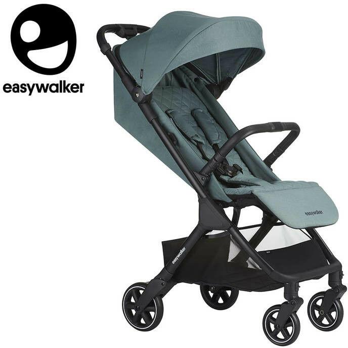easy walker - Easywalker Jackey Kompaktowy, Samoskładający Się Wózek Spacerowy z Torbą Transportową