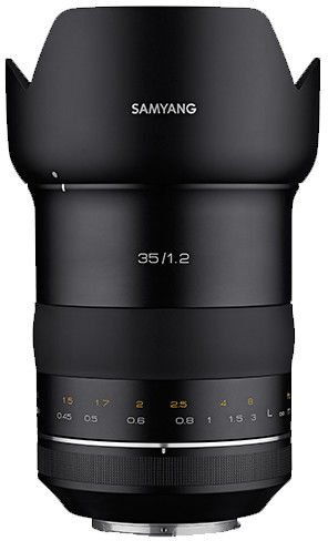 Samyang XP 35mm f/1.2 - obiektyw stałoogniskowy do Canon EF Samyang XP 35mm f/1.2
