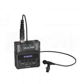 Cyfrowy rejestrator audio z mikrofonem Lavalier Tascam DR-10L
