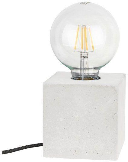 Lampa stołowa STRONG 1-punktowa lampa o białej betonowej podstawie 6170937