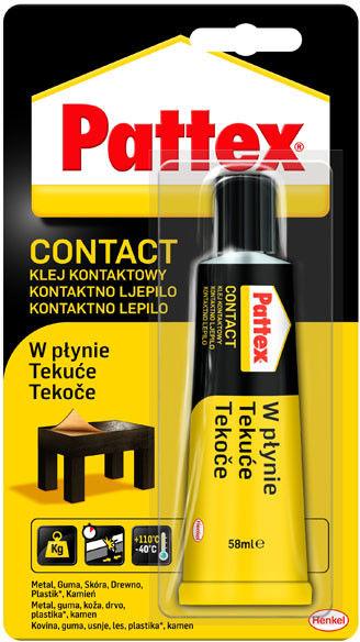 Klej kontaktowy Pattex płyn 58 ml