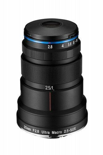 Obiektyw Venus Optics Laowa 25 mm f/2,8 Ultra Macro do Nikon F