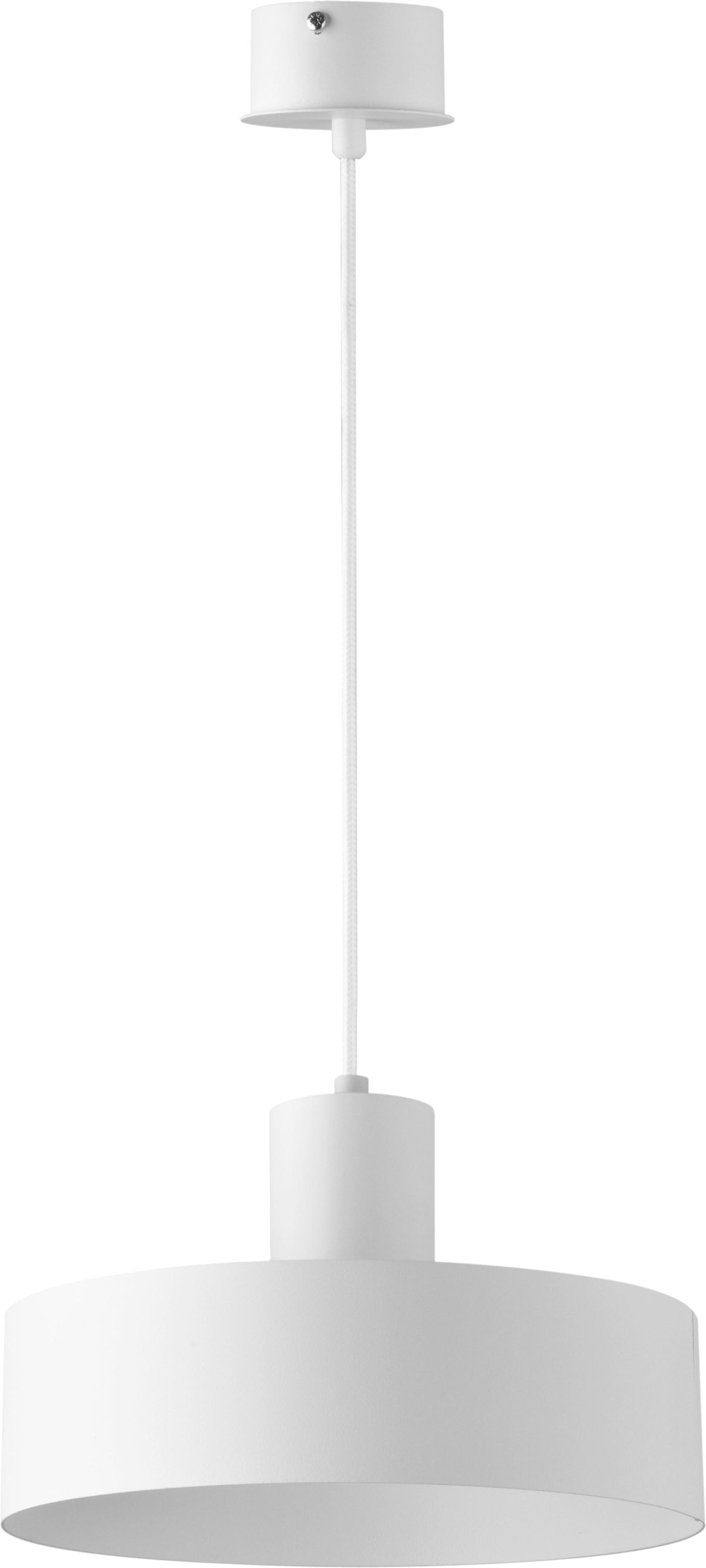 Lampa wisząca Rif 1 M biała 30902 - Sigma // Rabaty w koszyku i darmowa dostawa od 299zł !