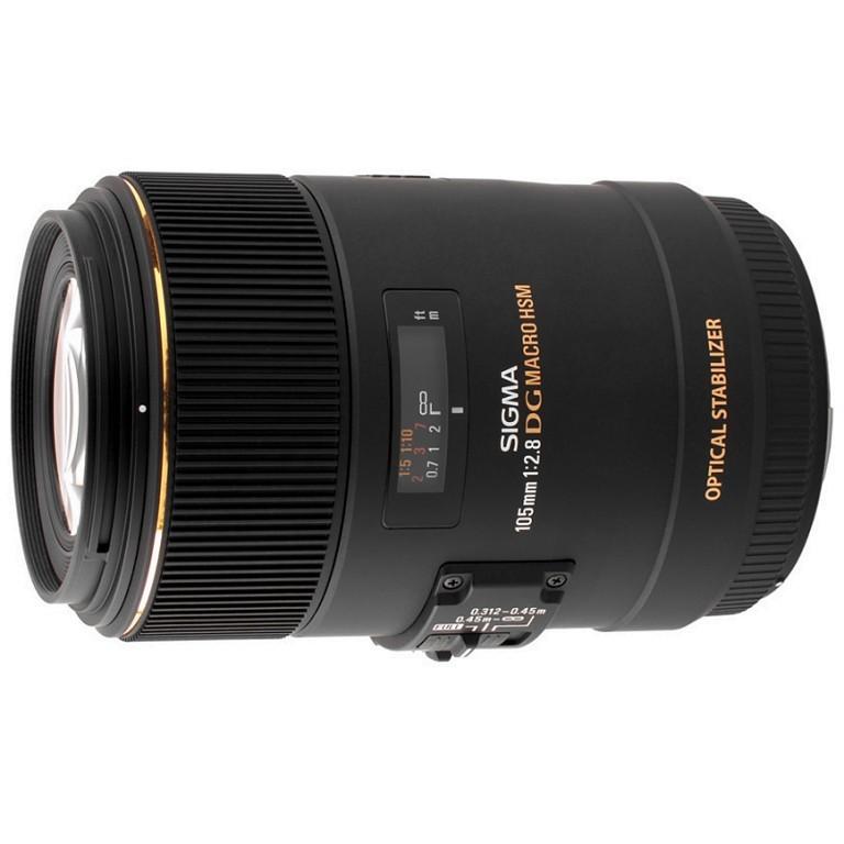 Obiektyw Sigma 105mm f/2.8 APO EX DG OS HSM Macro Canon