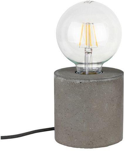 Lampa stołowa STRONG 1-punktowa lampa o szarej betonowej podstawie 6070936