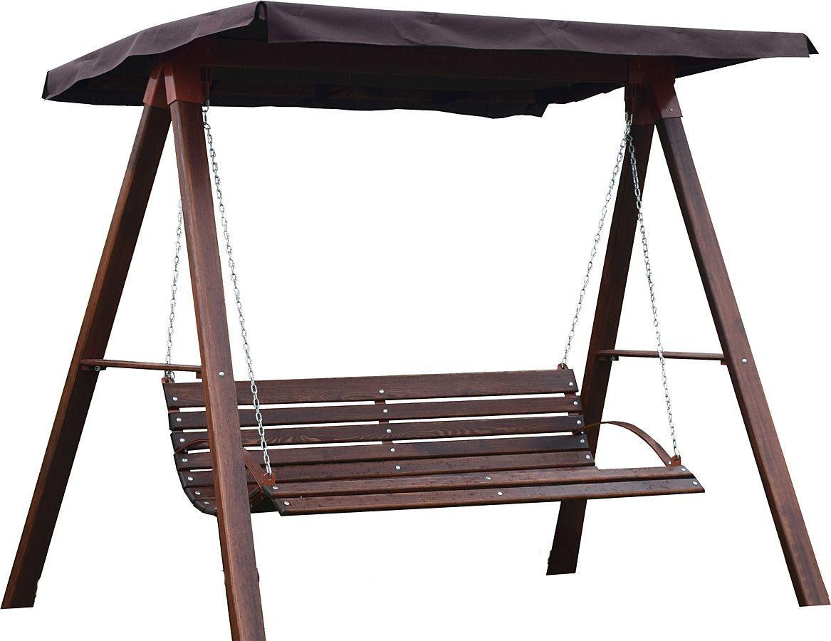 Drewniana huśtawka ogrodowa Magis 4X - 180cm