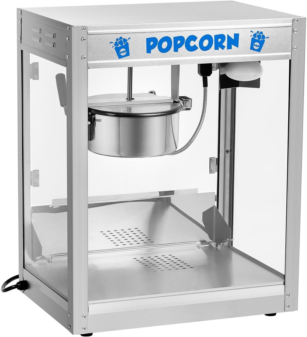 Maszyna do popcornu - stal nierdzewna - Royal Catering - RCPS-1350 - 3 lata gwarancji/wysyłka w 24h