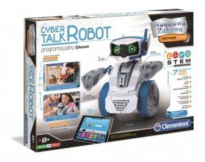 Mówiący Cyber Robot Interaktywna Zabawka do Samodzielnego Złożenia i Sterowania Smartfonem