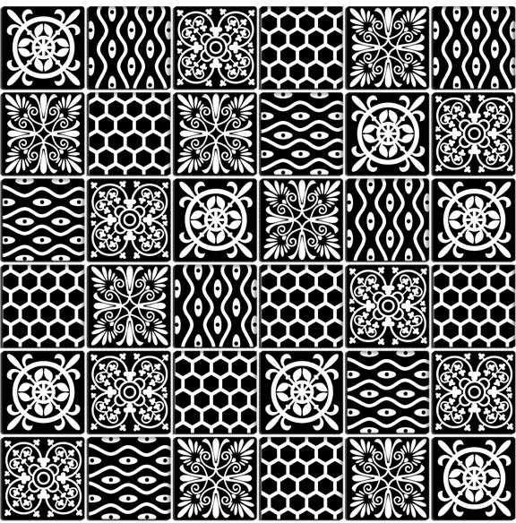 MIDAS - Mozaika szklana 4mm A-MGL04-XX-028