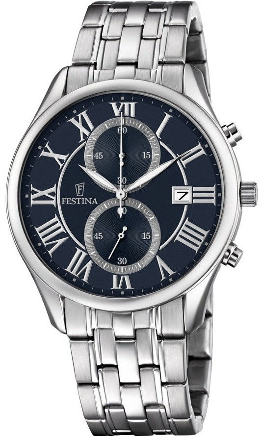 Zegarek Festina F6854-2 Timeless Chronograph - CENA DO NEGOCJACJI - DOSTAWA DHL GRATIS, KUPUJ BEZ RYZYKA - 100 dni na zwrot, możliwość wygrawerowania dowolnego tekstu.