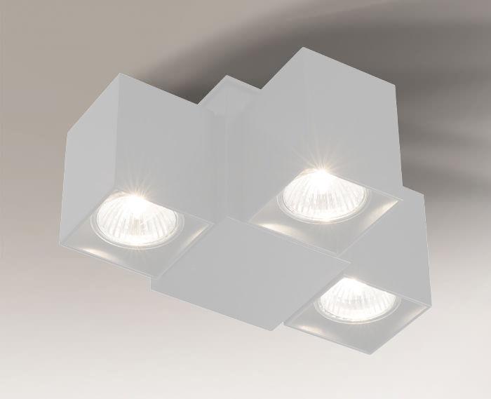 Reflektor BIZEN 7218 Shilo biały