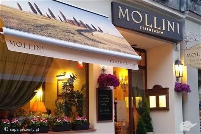 Włoska kolacja w Restauracji Mollini w Poznaniu