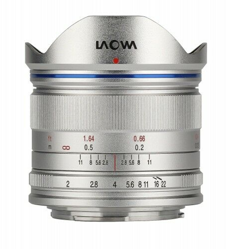 Laowa C-Dreamer Standard 7,5mm f/2,0 do Micro 4/3 - srebrny