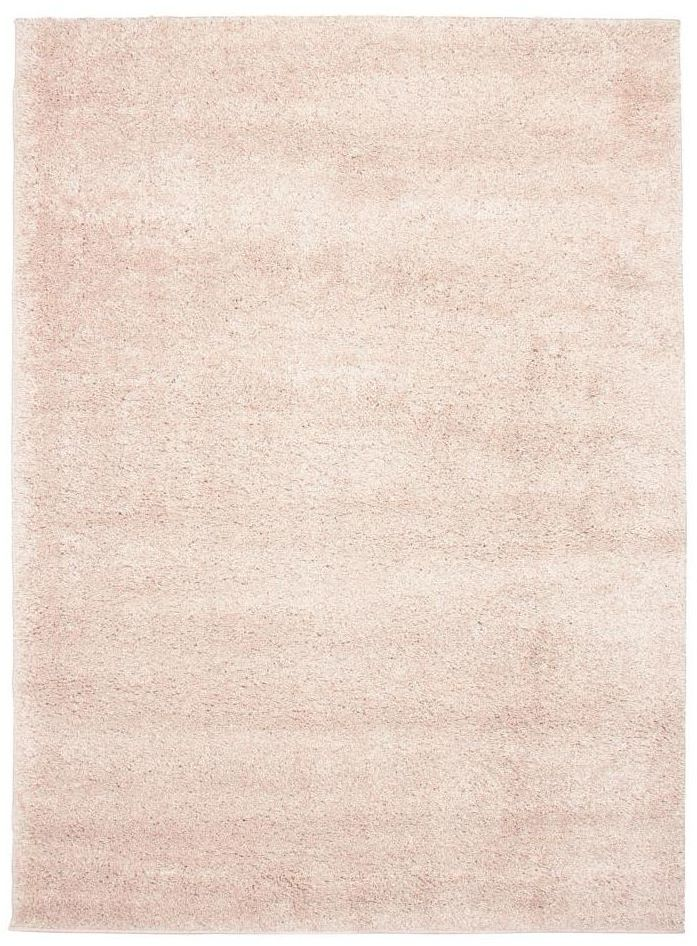 Dywan shaggy EVO pastelowy róż 80 x 140 cm
