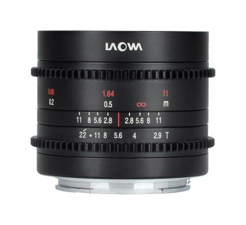 Laowa 9mm T2,9 Zero-D Cine do Micro 4/3