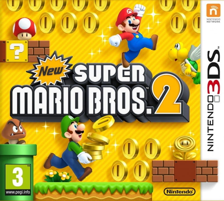Gra New Super Mario Bros. 2 (3DS)