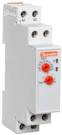 Przekaźnik czasowy 1P zwłoczny 0,1s-10dni 8A 24-48V DC 24-240V AC opóźnione zadziałanie wielozakresowy TMP