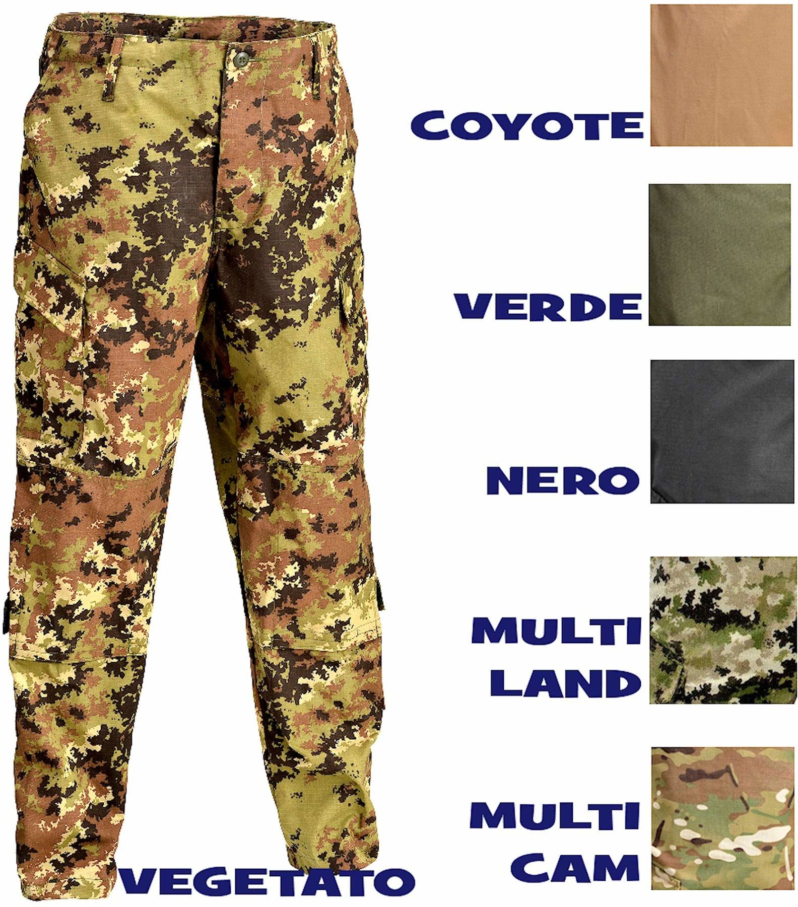 Defcon 5 BDU spodnie taktyczne, D5-1600 beżowy coyote tan S