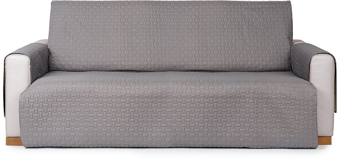 4Home Narzuta na kanapę Doubleface szara/jasnoszara, 180 x 220 cm, 180 x 220 cm