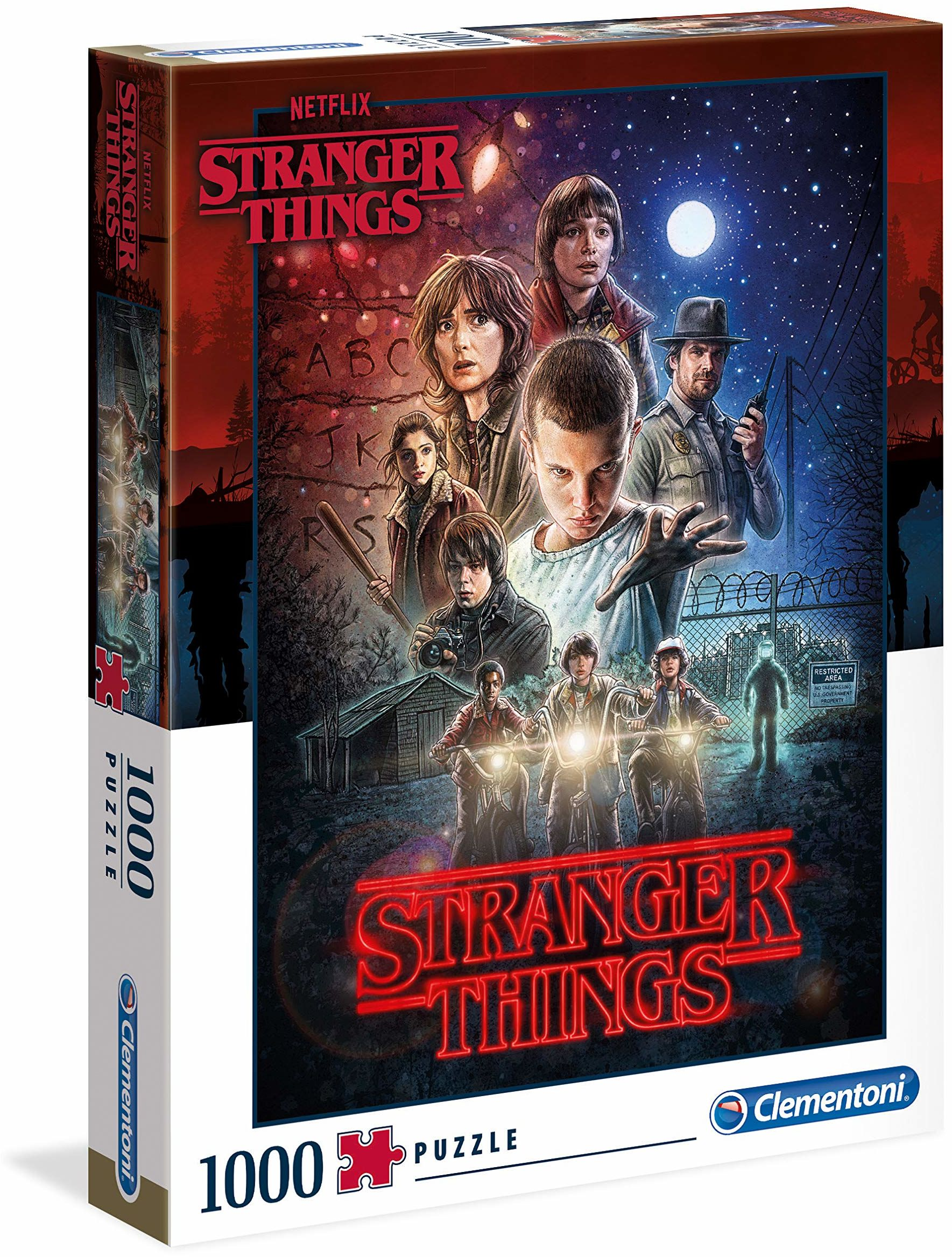 Clementoni 39542 Stranger Things Things-1000 szt. Puzzle 1