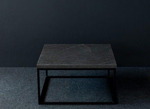 Elegancki stolik kawowy STILO2 Wytrawny szary kamień