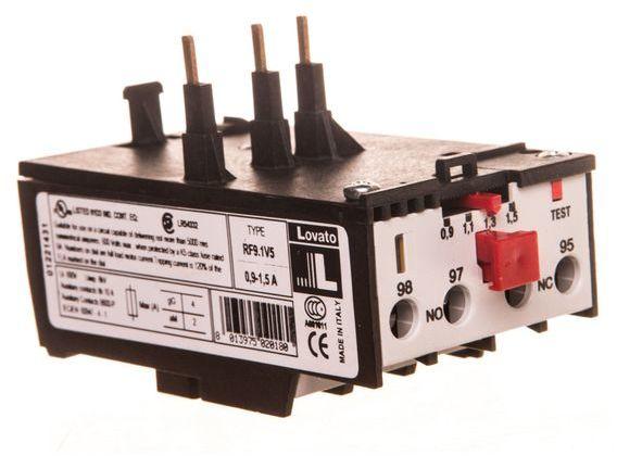 Przekaźnik termiczny 0,9-1,5A 11RF91V5