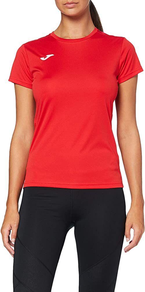 Joma damskie 900248.600 Joma 900248.600 damskie t-shirty - czerwone/czerwone, małe Red/Red S