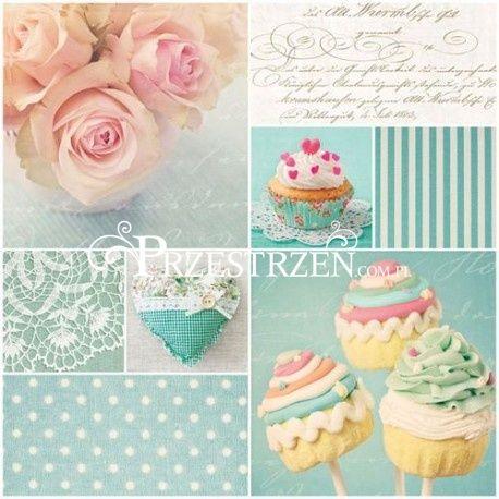 SERWETKI PAPIEROWE - Vintage Cupcakes