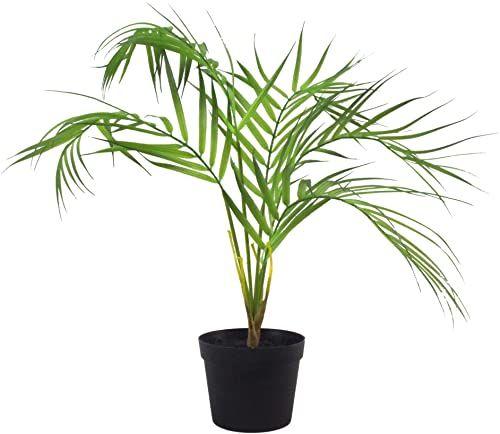 Leaf Mini sztuczna palma, naturalna Areca 50 cm