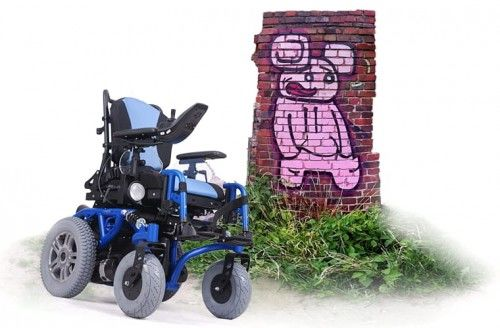Wózek inwalidzki elektryczny SPRINGER 6km/h