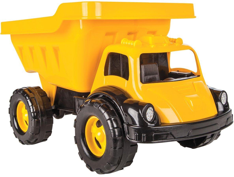 Jamara 460261  piaskownica samochodowa Big Kip  pojemność ok. 20 kg, powierzchnia ładunkowa, przechylana, manekina reflektorów