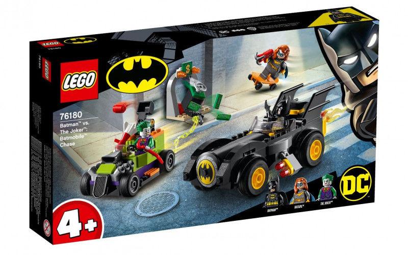 Batman kontra Joker: pościg Batmobilem Super Heroes 76180