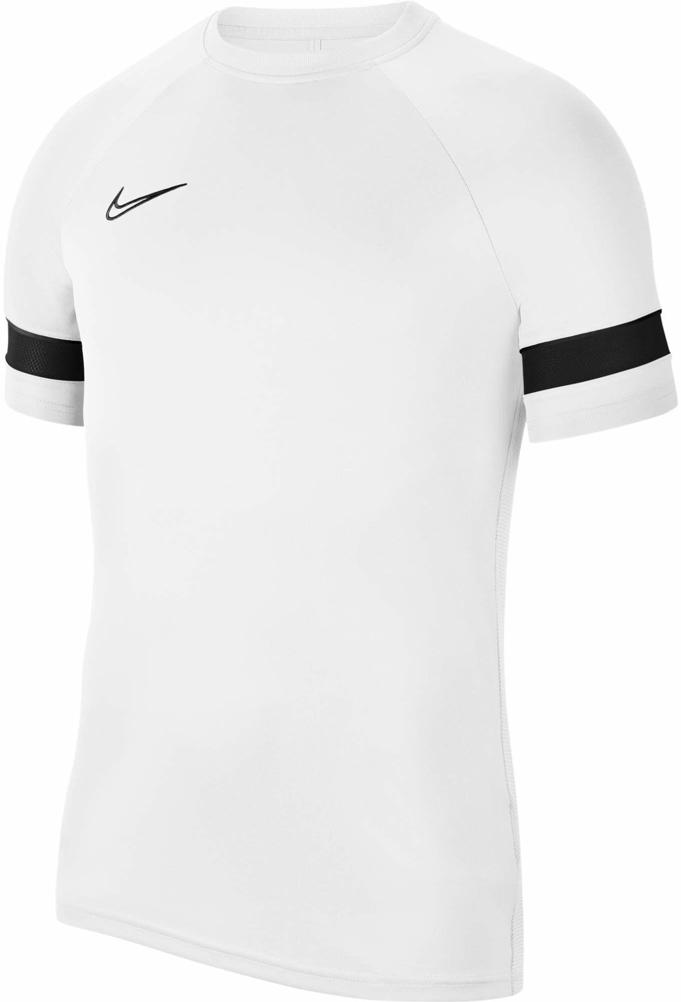 Nike Męska koszulka z krótkim rękawem Dri-FIT Academy 21, biały/czarny/czarny, M