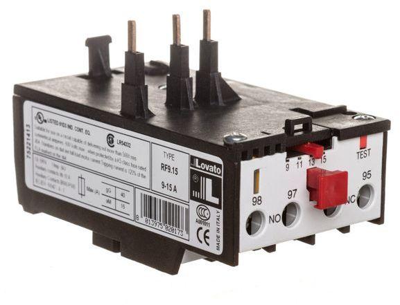 Przekaźnik termiczny 9-15A 11RF915