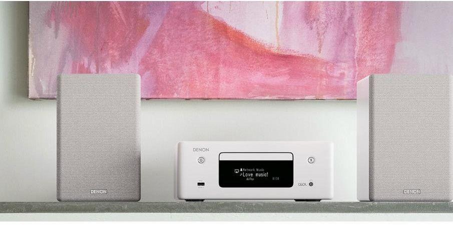 Amplituner stereo z CD RCDN-10, Kolor: Czarny